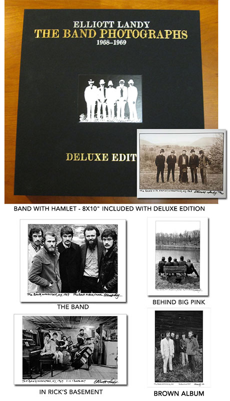 DELUXE LIMITED EDITION book. Plus a signed 20 x 24 Silver Gelatin print.
