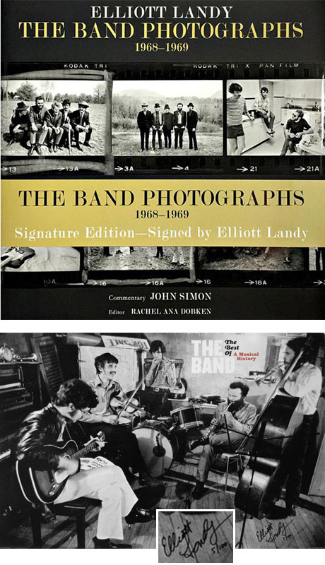 SIGNATURE EDITION book plus CAPITAL RECORDS POSTER, signed and numbered by Elliott.