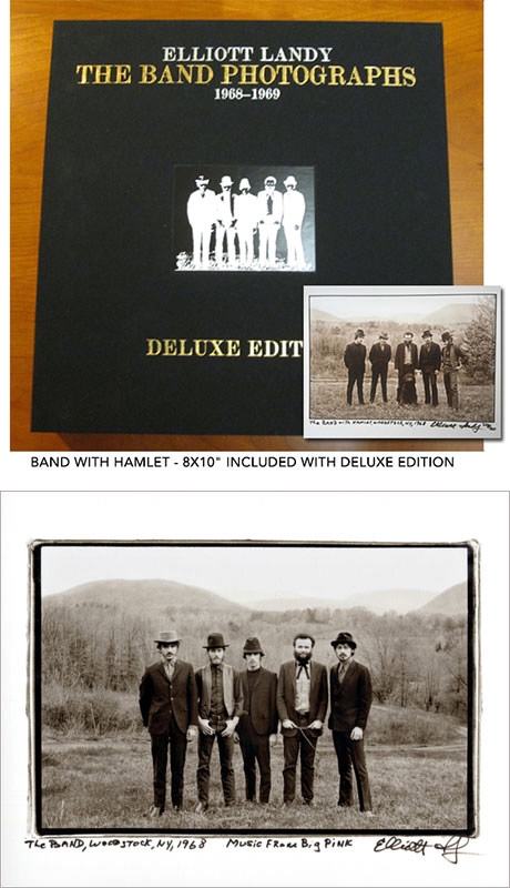 "DELUXE LIMITED EDITION book plus a Limited Edition signed 20 x 24"" SEPIA SILVER GELATIN PRINT"
