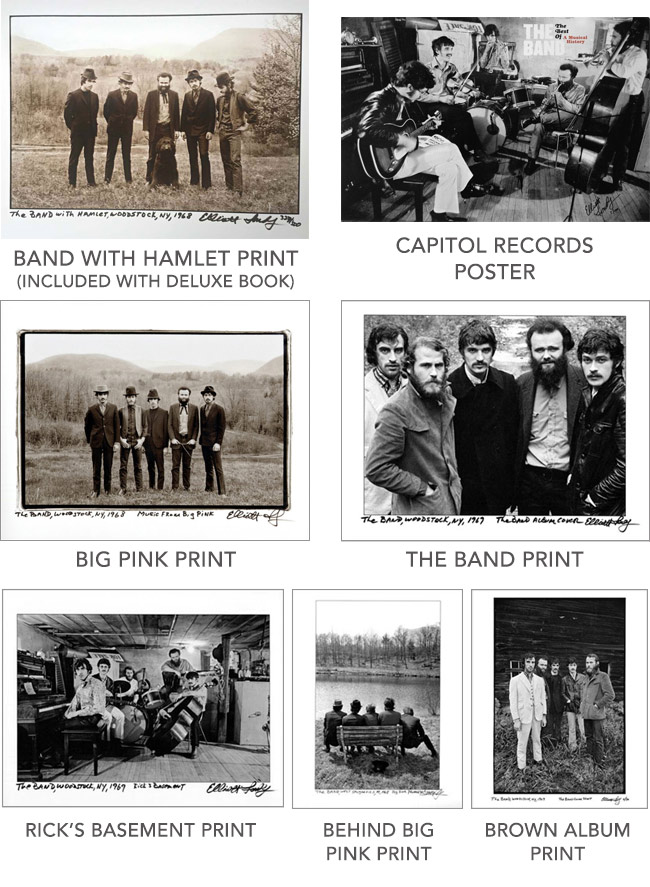 The Band Photographs 1968 1969 Products